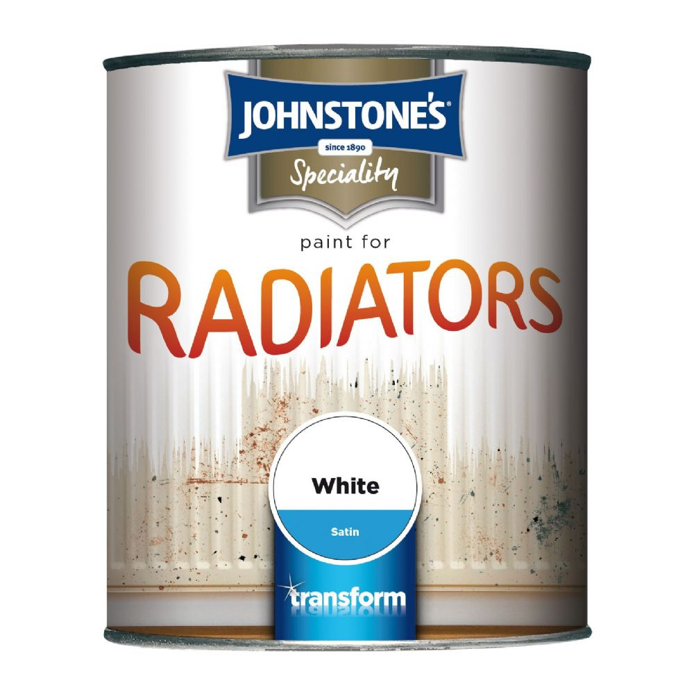 Johnstones Speciality Paint for Radiators White Satin
